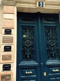 Entree 2 rue du cygne